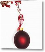 Christmas Bauble Metal Print