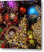 Christmas Beauty Metal Print