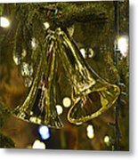 Christmas Bells Ornaments Faneuil Hall Tree Boston Metal Print