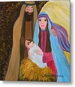 Christmas Blessing Metal Print