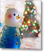 Christmas Blessings Metal Print