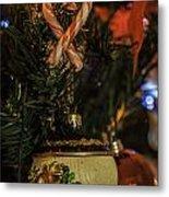 Christmas Bokeh 3 Metal Print