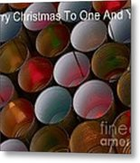 Christmas Card Metal Print