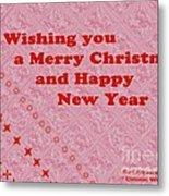 Christmas Cards And Artwork Christmas Wishes 10 Metal Print