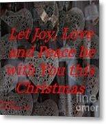 Christmas Cards And Artwork Christmas Wishes 32 Metal Print