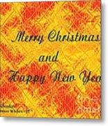 Christmas Cards And Artwork Christmas Wishes 37 Metal Print