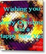 Christmas Cards And Artwork Christmas Wishes 72 Metal Print
