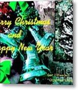 Christmas Cards And Artwork Christmas Wishes 76 Metal Print