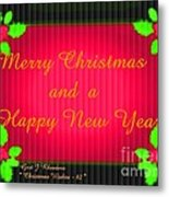 Christmas Cards And Artwork Christmas Wishes 82 Metal Print