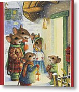 Christmas Carols Metal Print