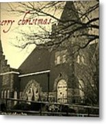 Christmas Chapel Metal Print