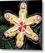 Christmas Cookie Metal Print