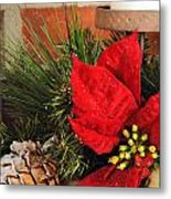 Christmas Decor Close Metal Print