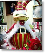 Christmas Decor Metal Print by Jon Berghoff