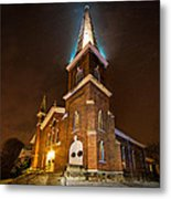Christmas Eve Metal Print by Everet Regal