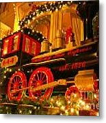 Christmas Express Metal Print