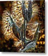 Christmas Floozy Metal Print