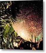 Christmas Glitter Metal Print