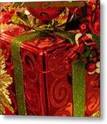 Christmas Greeting Metal Print