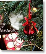 Christmas Greetings Metal Print