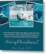 Christmas Greetings Metal Print
