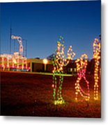 Christmas In Cayce-1 Metal Print