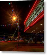 Christmas In Columbiana Ohio Metal Print