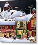Christmas In Holly Ridge Metal Print