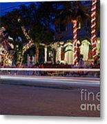 Christmas In Key West Metal Print
