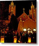 Christmas In Old Town IIi Metal Print