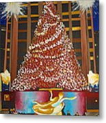 Christmas In The City Metal Print