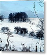 Christmas In The Hills Metal Print