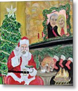 Christmas Is For Sharing Metal Print by Danae McKillop