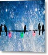 Christmas Lights Metal Print by Bob Orsillo