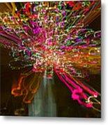 Exploding   Lights  Metal Print