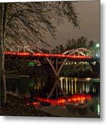 Christmas On Caveman Bridge Metal Print