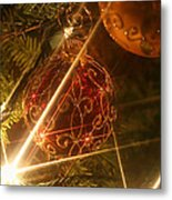 Christmas Ornaments 1 Metal Print