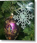 Christmas Ornaments 2 Metal Print