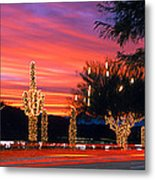 Christmas, Phoenix, Arizona, Usa Metal Print
