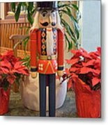 Christmas Sentinel  No 1 Metal Print