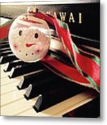 Christmas Smile Metal Print by Joyce Kimble Smith