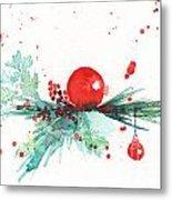 Christmas Theme 3 Metal Print