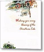 Christmas Tide Metal Print
