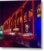 Christmas Train Metal Print