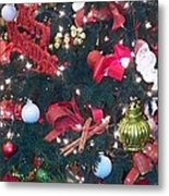 Christmas Tree 10 Metal Print by Laurie Kidd