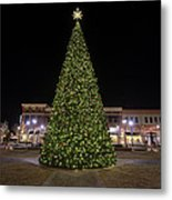 Christmas Tree Hampton City Center  Metal Print