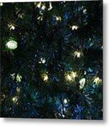 Christmas Tree Lights Metal Print