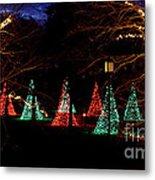 Christmas Wonderland Walk Metal Print