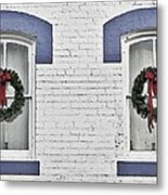 Christmas Wreaths  Metal Print