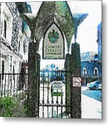 Christ's College Canterbury Metal Print